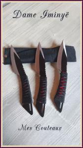 mes couteaux
